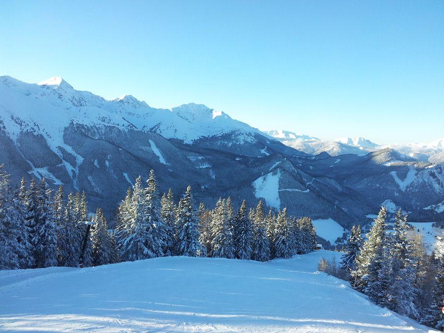 Gipfelabfahrt von ca. 1800 m Höhe